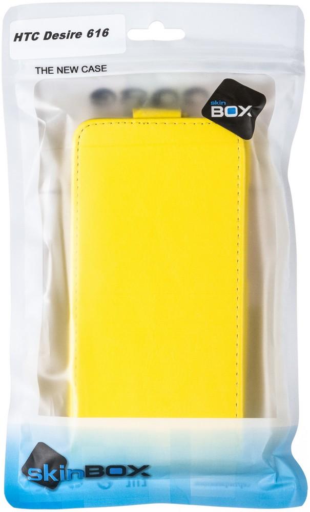 Skinbox Flip Case чехол для HTC Desire 616, Yellow