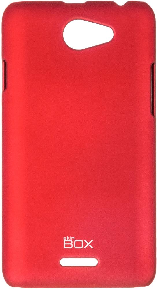 Skinbox 4People чехол для HTC Desire 516, Red2000000061207Чехол-накладка Skinbox 4People для HTC Desire 516 бережно и надежно защитит ваш смартфон от пыли, грязи, царапин и других повреждений. Чехол оставляет свободным доступ ко всем разъемам и кнопкам устройства.
