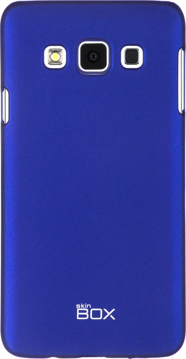 Skinbox 4People чехол для Samsung Galaxy A3, Blue2000000061313Чехол-накладка Skinbox 4People для Samsung Galaxy A3 бережно и надежно защитит ваш смартфон от пыли, грязи, царапин и других повреждений. Выполнен из высококачественного поликарбоната, плотно прилегает и не скользит в руках. Чехол-накладка оставляет свободным доступ ко всем разъемам и кнопкам устройства.