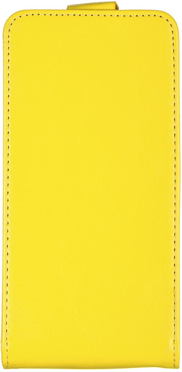 Skinbox 4People чехол для Asus ZenFone 4 (A450CG), Yellow2000000062228Накладка выполнена из высококачественного поликарбоната, плотно прилегает и не скользит в руках.