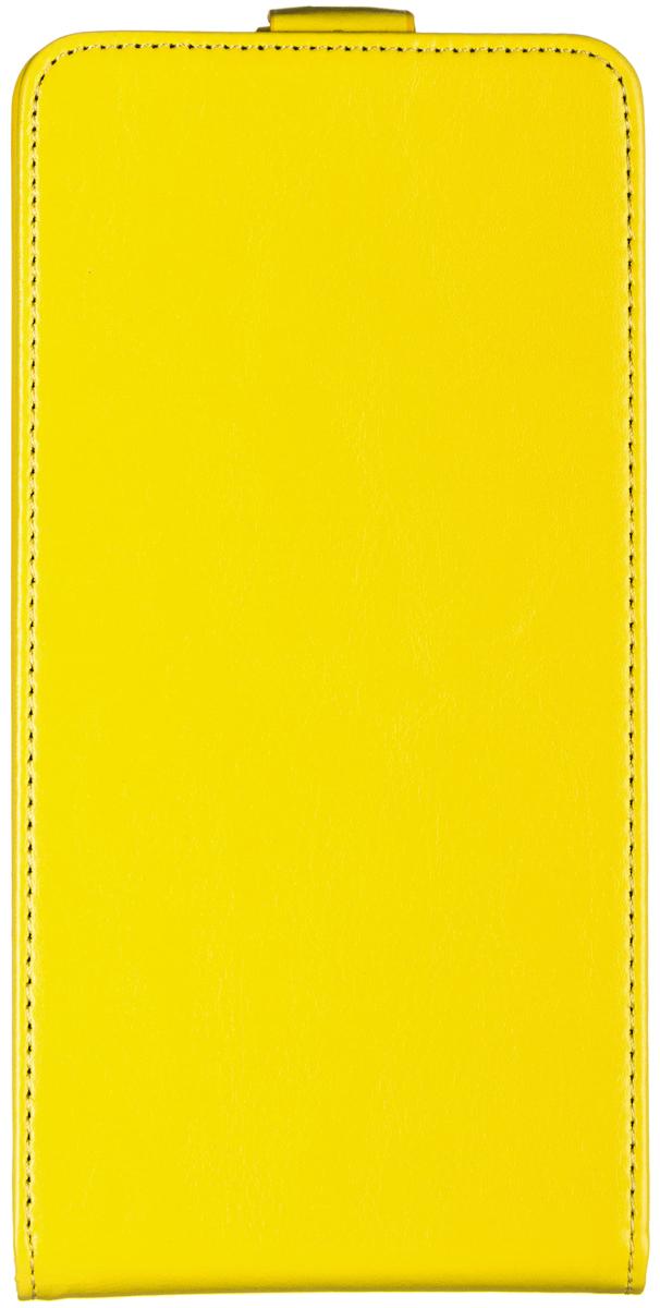 Skinbox 4People чехол-флип для Asus ZenFone 6, Yellow2000000062259Чехол Skinbox 4People сделан из высококачественного поликарбоната и искусственной кожи. Он надежно фиксирует и защищает смартфон при падении. Обеспечивает свободный доступ ко всем разъемам и элементам управления.