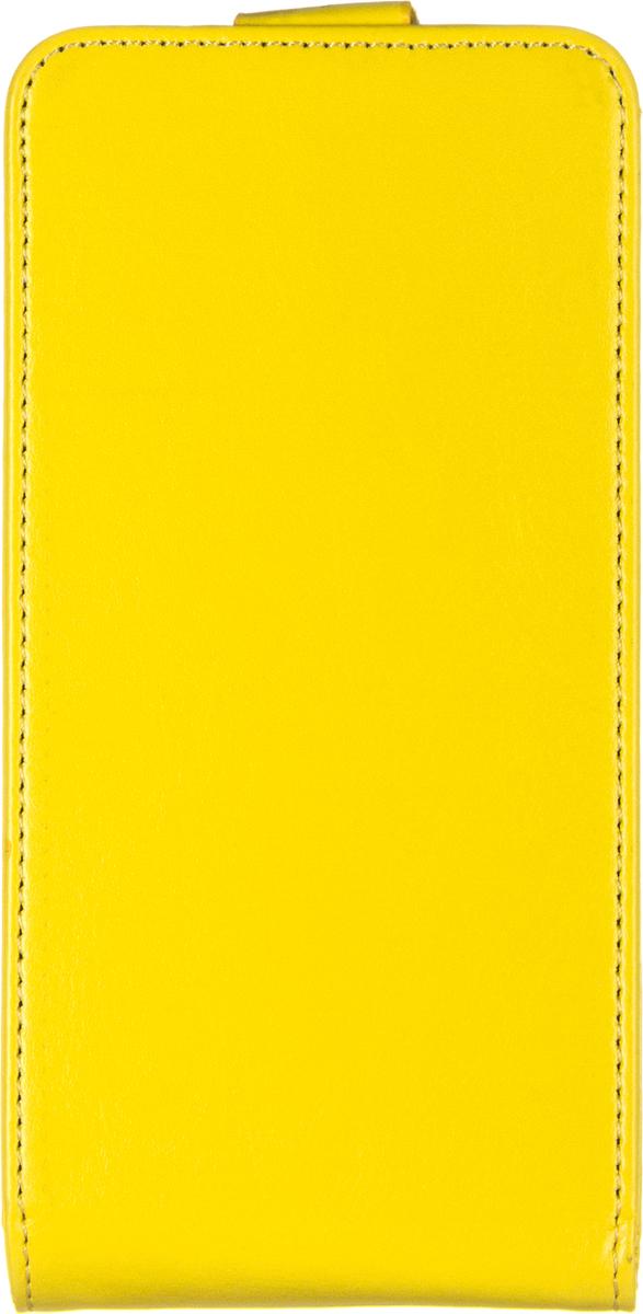 Skinbox Flip Case чехол для Lenovo S660, Yellow
