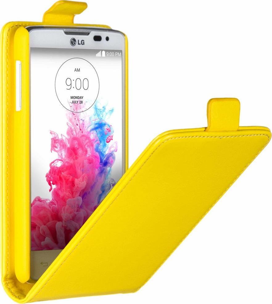Skinbox Flip Case чехол для LG L60 Dual, Yellow
