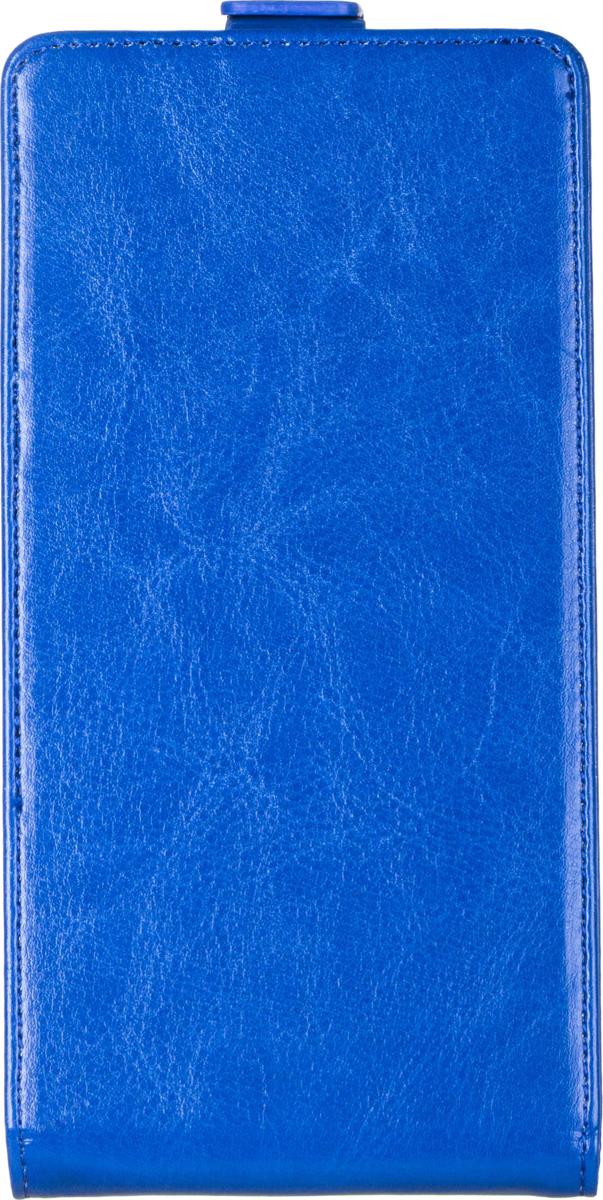 Skinbox Flip Case чехол для Philips I928, Blue2000000062570Чехол Skinbox Flip Case для Philips I928 выполнен из высококачественного поликарбоната и экокожи. Он обеспечивает надежную защиту корпуса и экрана смартфона и надолго сохраняет его привлекательный внешний вид. Чехол также обеспечивает свободный доступ ко всем разъемам и клавишам устройства.