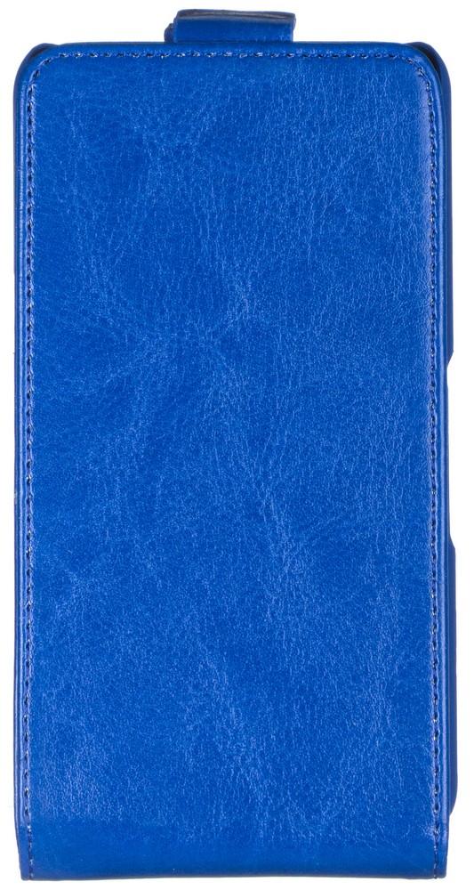 Skinbox Flip Case чехол для Sony Xperia E4g, Blue2000000062969Чехол Skinbox Flip Case для Sony Xperia E4g выполнен из высококачественного поликарбоната и экокожи. Он обеспечивает надежную защиту корпуса и экрана смартфона и надолго сохраняет его привлекательный внешний вид. Чехол также обеспечивает свободный доступ ко всем разъемам и клавишам устройства.