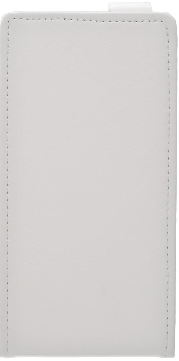 Skinbox Flip Case чехол для Lenovo A7000, White2000000077611Чехол Skinbox Flip Case для Lenovo A7000 выполнен из высококачественного поликарбоната и экокожи. Он обеспечивает надежную защиту корпуса и экрана смартфона и надолго сохраняет его привлекательный внешний вид. Чехол также обеспечивает свободный доступ ко всем разъемам и клавишам устройства.