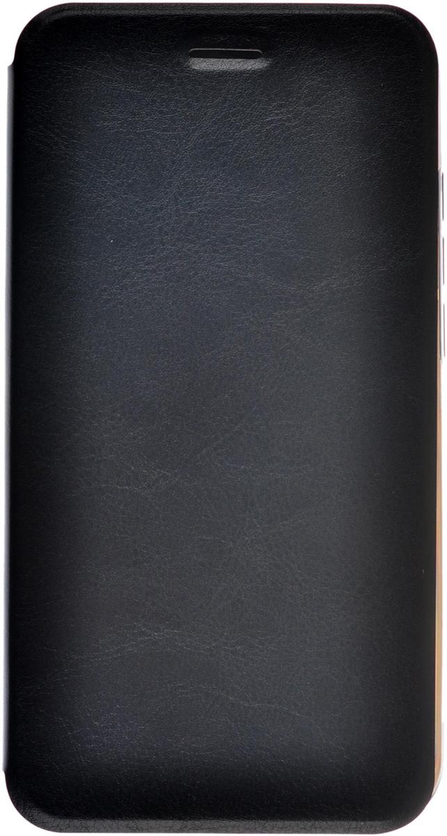 Skinbox Lux чехол для Micromax Canvas Spark 2 Q391, Black2000000078496Чехол Skinbox Lux выполнен из высококачественного поликарбоната и экокожи. Он обеспечивает надежную защиту корпуса и экрана смартфона и надолго сохраняет его привлекательный внешний вид. Чехол также обеспечивает свободный доступ ко всем разъемам и клавишам устройства.