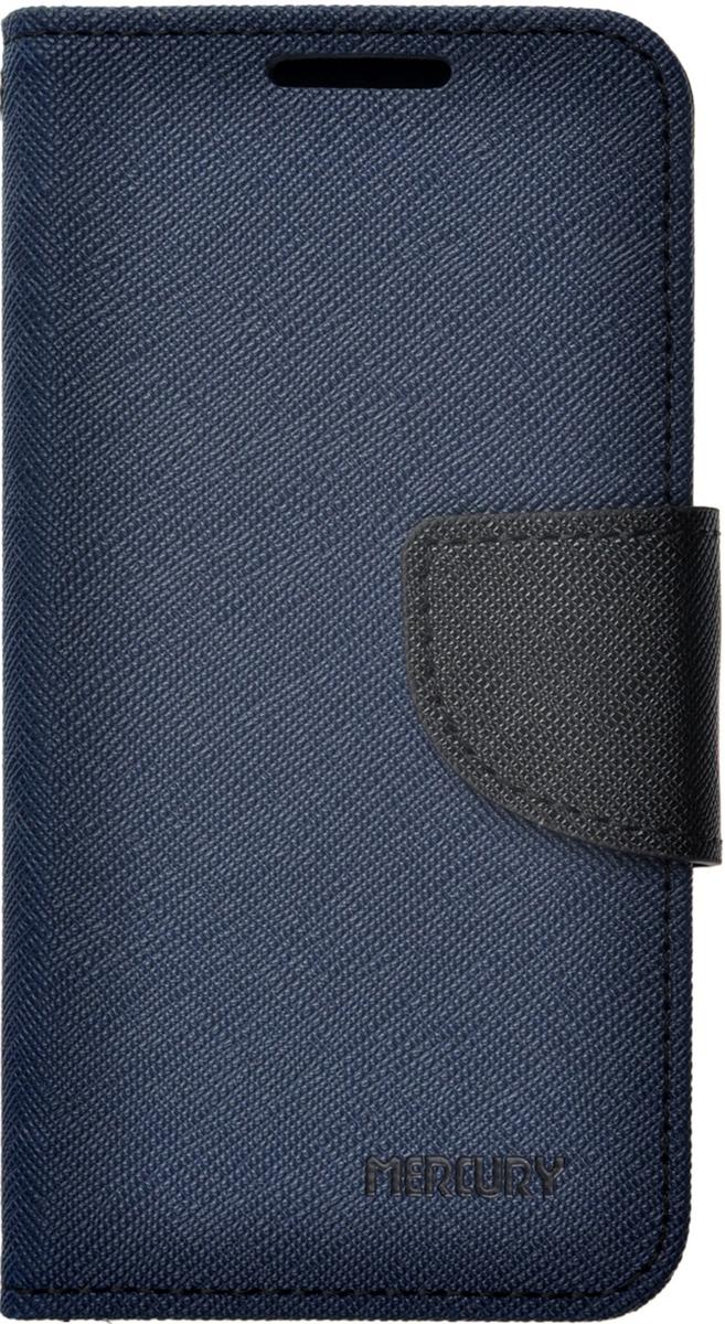 Mercury чехол для Asus ZenFone 4 (A400CG), Blue2000000078694Чехол Mercury для Asus ZenFone 4 (A400CG) выполнен из высококачественной искусственной кожи и поликарбоната. Он отлично справляется с защитой корпуса смартфона от механических повреждений и надолго сохраняет привлекательный внешний вид. Чехол также обеспечивает свободный доступ ко всем разъемам и клавишам устройства.