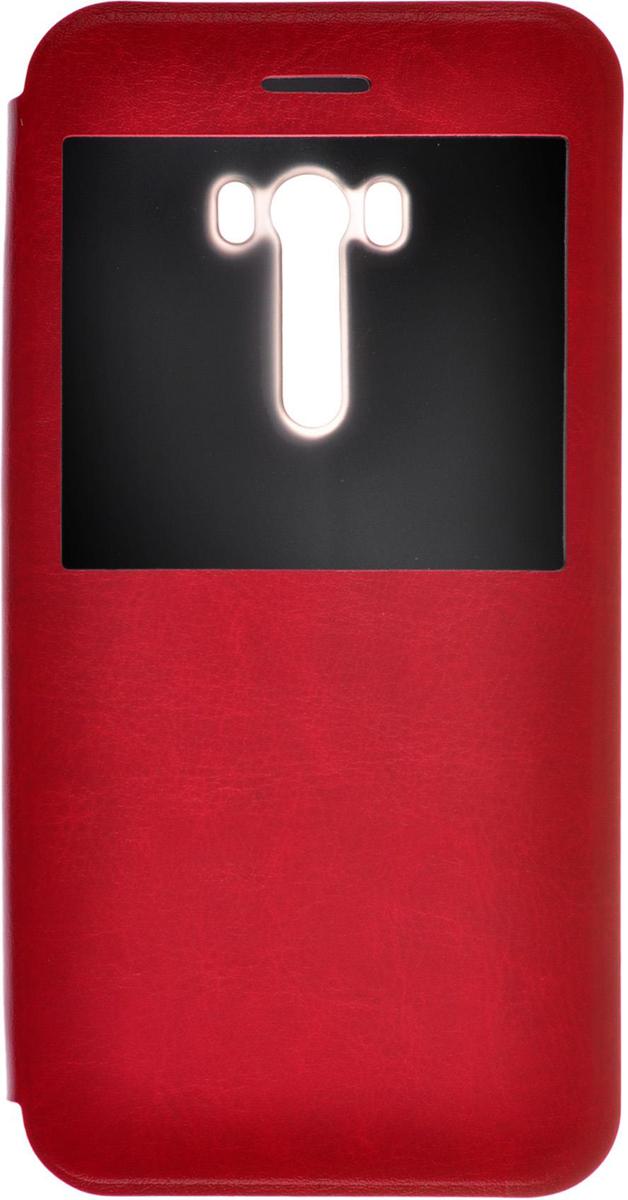 Skinbox Lux AW чехол для Asus Zenfone Selfie ZD551KL, Red2000000079578Чехол IT Baggage для Meizu M3 Note надежно защищает смартфон от случайных ударов и царапин, а также от внешних воздействий, грязи, пыли и брызг. Практически не увеличивает размер вашего телефона. Чехол имеет окошко на лицевой стороне, которое позволяет просматривать предупреждения, сообщения и время, не доставая телефон из чехла. Крышка может использоваться как подставка под устройство. Чехол обеспечивает свободный доступ ко всем функциональным кнопкам смартфона и камере.