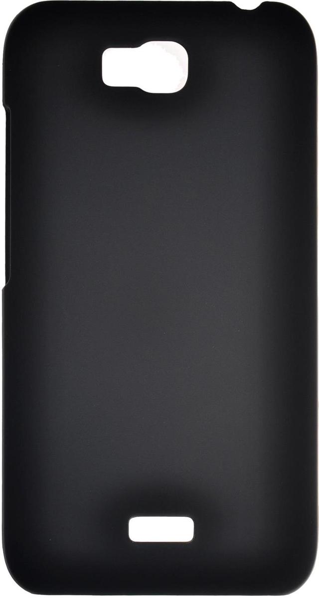 Skinbox 4People чехол для Huawei Ascend Y5C, Black2000000080628Чехол-накладка Skinbox 4People для Huawei Ascend Y5C бережно и надежно защитит ваш смартфон от пыли, грязи, царапин и других повреждений. Выполнен из высококачественного поликарбоната, плотно прилегает и не скользит в руках. Чехол-накладка оставляет свободным доступ ко всем разъемам и кнопкам устройства.
