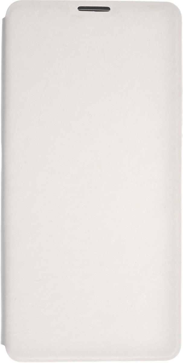 Skinbox Lux чехол для Sony Xperia C5 Ultra, White2000000081076Чехол Skinbox Lux выполнен из высококачественного поликарбоната и экокожи. Он обеспечивает надежную защиту корпуса и экрана смартфона и надолго сохраняет его привлекательный внешний вид. Чехол также обеспечивает свободный доступ ко всем разъемам и клавишам устройства.