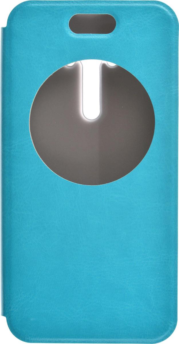 Skinbox Lux AW чехол для Asus Zenfone Selfie ZD551KL, Light Blue2000000081489Чехол Skinbox Lux AW для Asus Zenfone Selfie ZD551KL выполнен из высококачественного поликарбоната и экокожи. Он обеспечивает надежную защиту корпуса и экрана смартфона и надолго сохраняет его привлекательный внешний вид. Чехол также обеспечивает свободный доступ ко всем разъемам и клавишам устройства.