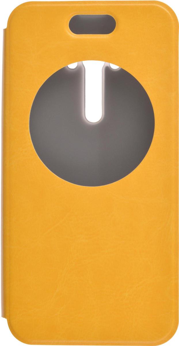 Skinbox Lux AW чехол для Asus Zenfone Selfie ZD551KL, Yellow2000000081496Чехол Skinbox Lux AW для Asus Zenfone Selfie ZD551KL выполнен из высококачественного поликарбоната и экокожи. Он обеспечивает надежную защиту корпуса и экрана смартфона и надолго сохраняет его привлекательный внешний вид. Чехол также обеспечивает свободный доступ ко всем разъемам и клавишам устройства.