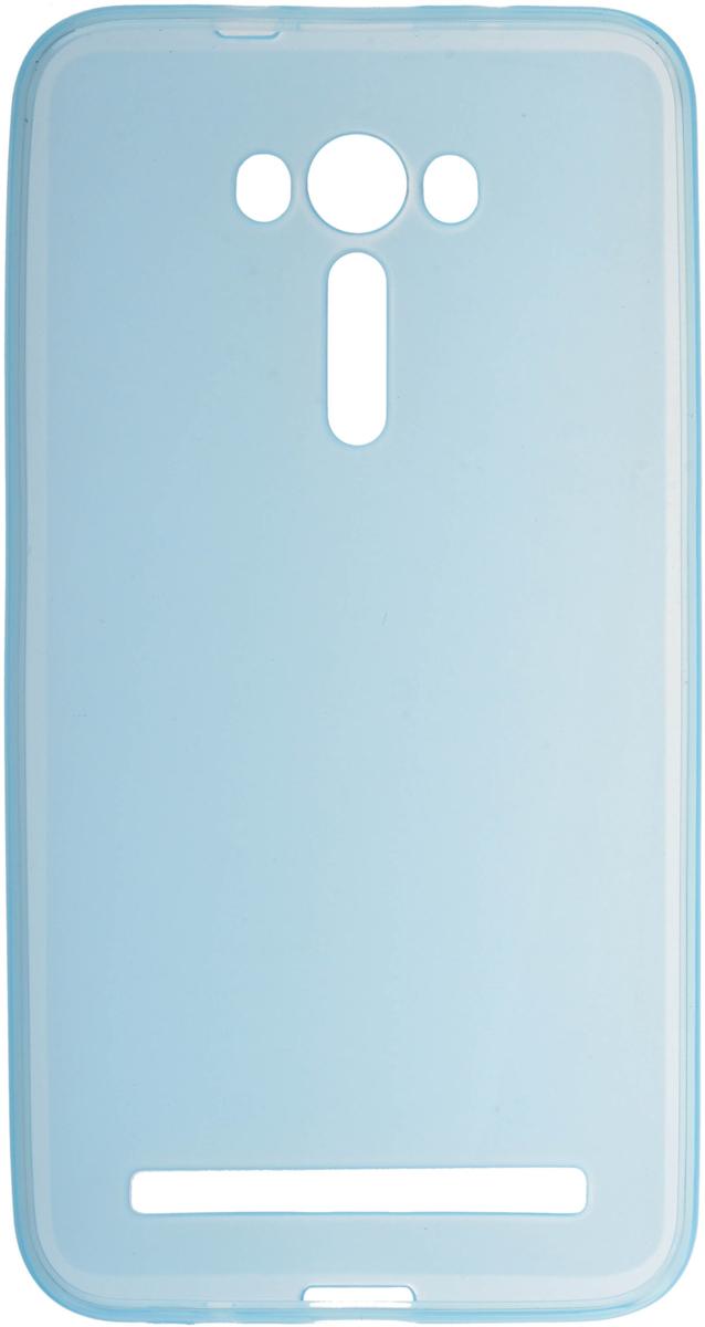 Skinbox Silicone чехол для Asus Zenfone 2 Laser ZE550KL, Blue2000000081700Чехол-накладка Skinbox Silicone для Asus Zenfone Laser 2 ZE550KL обеспечивает надежную защиту корпуса смартфона от механических повреждений и надолго сохраняет его привлекательный внешний вид. Накладка выполнена из высококачественного силикона, плотно прилегает и не скользит в руках. Чехол также обеспечивает свободный доступ ко всем разъемам и клавишам устройства.