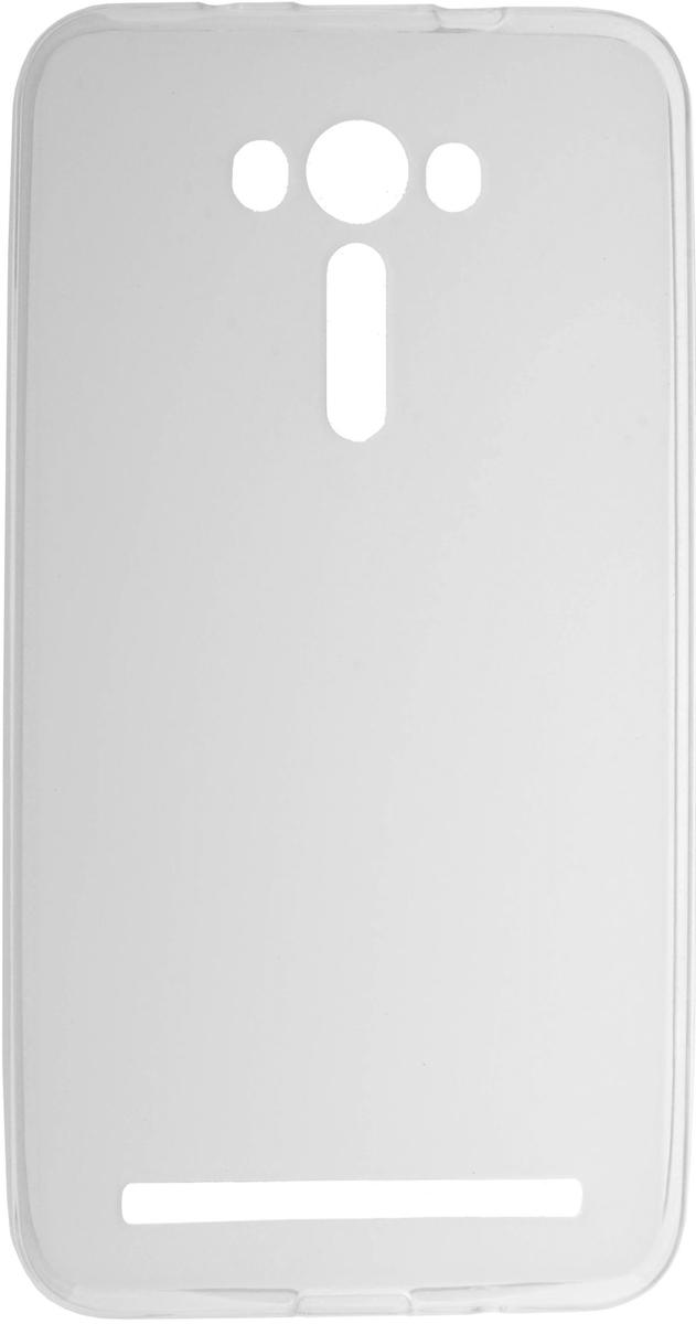 Skinbox Silicone чехол для Asus Zenfone 2 Laser ZE550KL, Transparent2000000081717Чехол-накладка Skinbox Silicone для Asus Zenfone 2 Laser ZE550KL обеспечивает надежную защиту корпуса смартфона от механических повреждений и надолго сохраняет его привлекательный внешний вид. Накладка выполнена из высококачественного силикона, плотно прилегает и не скользит в руках. Чехол также обеспечивает свободный доступ ко всем разъемам и клавишам устройства.