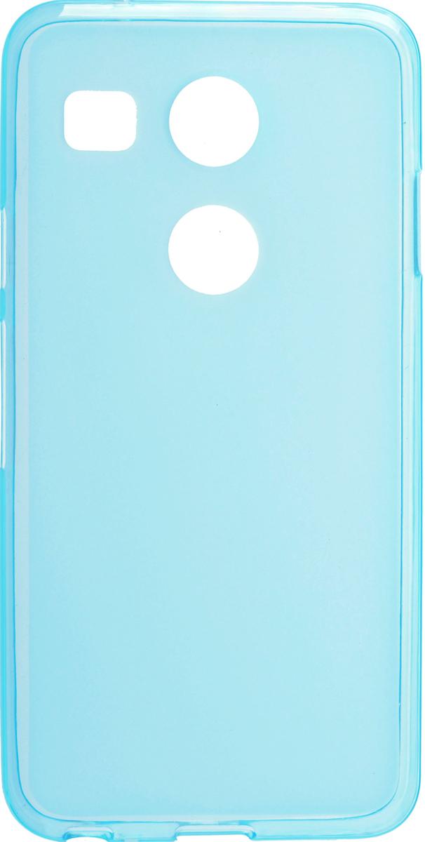 Skinbox Silicone чехол для LG Nexus 5X, Blue