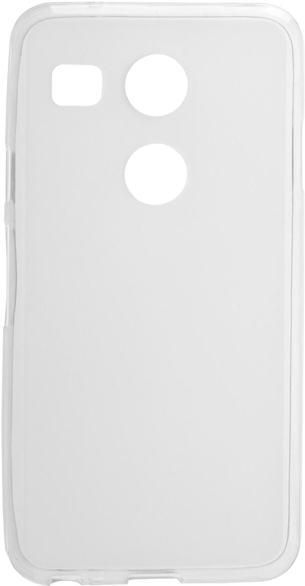 Skinbox Silicone чехол для LG Nexus 5X, Transparent