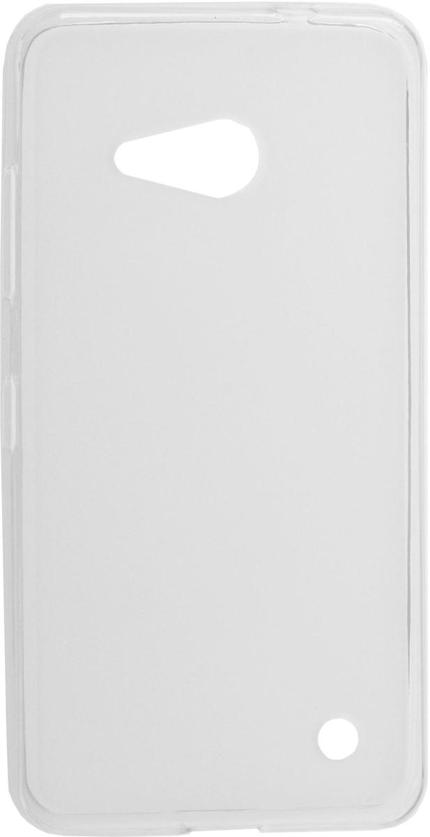 Skinbox Silicone чехол для Microsoft Lumia 550, Transparent2000000082233Чехол-накладка Skinbox Silicone для Microsoft Lumia 550 обеспечивает надежную защиту корпуса смартфона от механических повреждений и надолго сохраняет его привлекательный внешний вид. Накладка выполнена из высококачественного силикона, плотно прилегает и не скользит в руках. Чехол также обеспечивает свободный доступ ко всем разъемам и клавишам устройства.