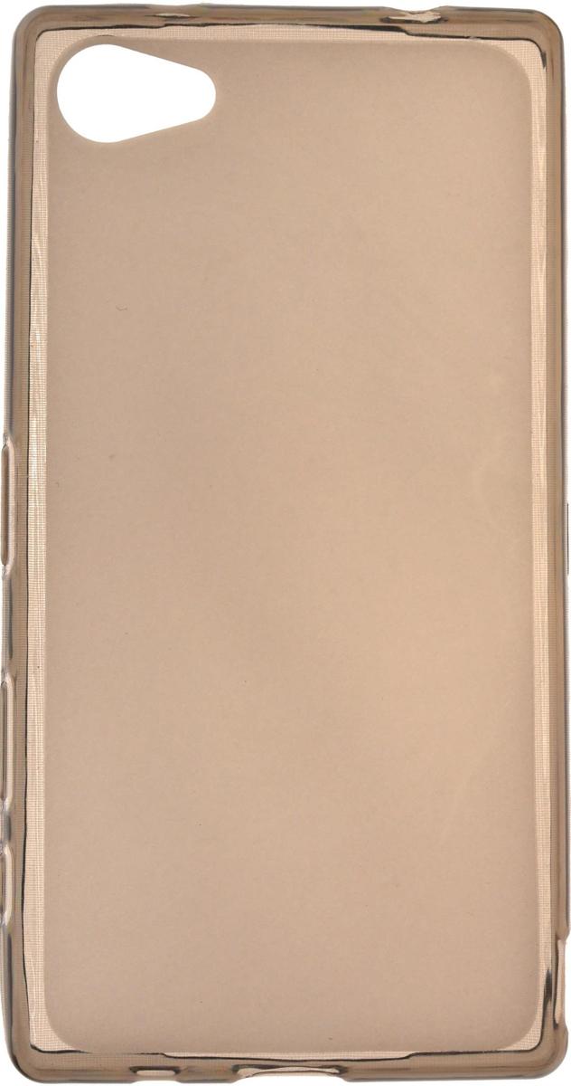 Skinbox Silicone чехол для Sony Xperia Z5 Compact, Brown2000000082967Чехол-накладка Skinbox Silicone для Sony Xperia Z5 Compact обеспечивает надежную защиту корпуса смартфона от механических повреждений и надолго сохраняет его привлекательный внешний вид. Накладка выполнена из высококачественного силикона, плотно прилегает и не скользит в руках. Чехол также обеспечивает свободный доступ ко всем разъемам и клавишам устройства.