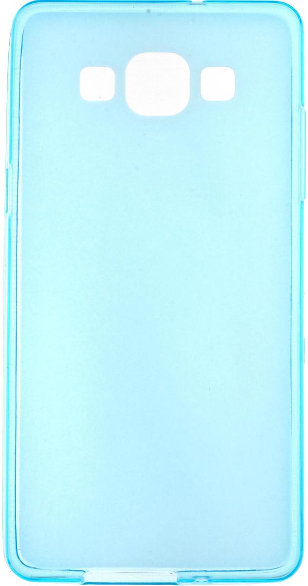 Skinbox Silicone чехол для Samsung Galaxy A5, Blue2000000083155Чехол-накладка Skinbox Silicone для Samsung Galaxy A5 обеспечивает надежную защиту корпуса смартфона от механических повреждений и надолго сохраняет его привлекательный внешний вид. Накладка выполнена из высококачественного силикона, плотно прилегает и не скользит в руках. Чехол также обеспечивает свободный доступ ко всем разъемам и клавишам устройства.