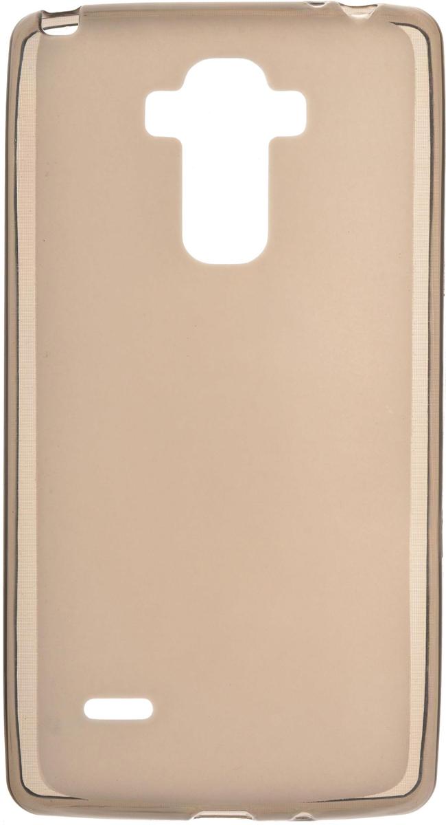Skinbox Silicone чехол для LG G4 Stylus, Brown