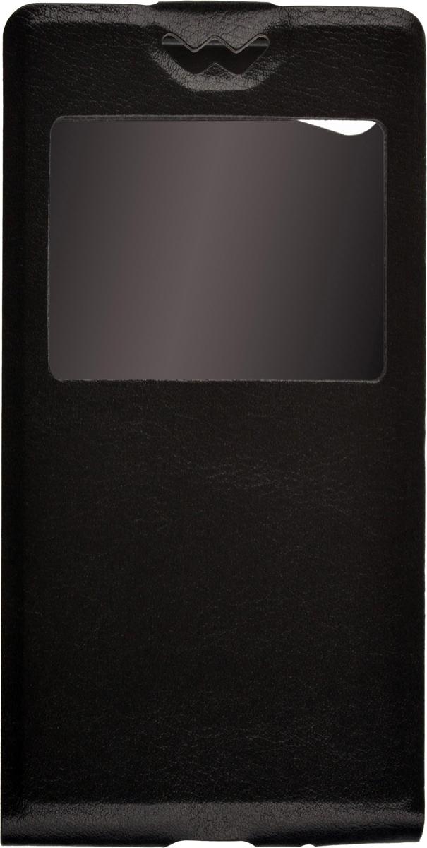 Skinbox Flip Slim AW чехол для Sony Xperia Z5 Compact, Black2000000083414Чехол Skinbox Flip Slim AW для Sony Xperia Z5 Compact выполнен из высококачественного поликарбоната и экокожи. Он обеспечивает надежную защиту корпуса и экрана смартфона и надолго сохраняет его привлекательный внешний вид. Чехол также обеспечивает свободный доступ ко всем разъемам и клавишам устройства. Благодаря функциональному окну отсутствует необходимость открывать чехол для того, чтобы ответить на вызов, проверить время, воспользоваться камерой или любой другой функцией.