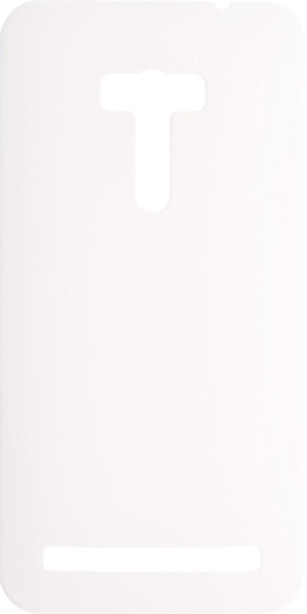 Skinbox 4People чехол для Asus Zenfone Laser 2 ZE550KL, White2000000083582Чехол-накладка Skinbox 4People для Asus Zenfone Laser 2 ZE550KL бережно и надежно защитит ваш смартфон от пыли, грязи, царапин и других повреждений. Обеспечивает свободный доступ ко всем разъемам и элементам управления.