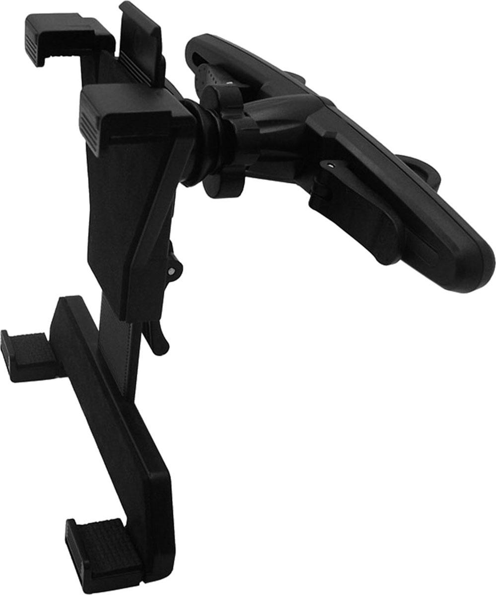 Держатель для планшета Zipower, на подголовник. PM 6613PM 6613Держатель для планшета Zipower, выполненный из высококачественного пластика, крепится на подголовник переднего сиденья. Таким образом, сидящий сзади пассажир может в дороге с комфортом смотреть фильм или работать с документами. Конструкция держателя позволяет быстро подобрать удобный для пассажира угол обзора. Особенности держателя: Выполнен из высококачественного материала PC + ABS. Совместим с iPad и другими планшетами PC/GPS. Для любого автомобиля, легко устанавливается. Регулируемый поворот на 360°. Противоскользящий коврик. Высота захвата: 105–195 мм.