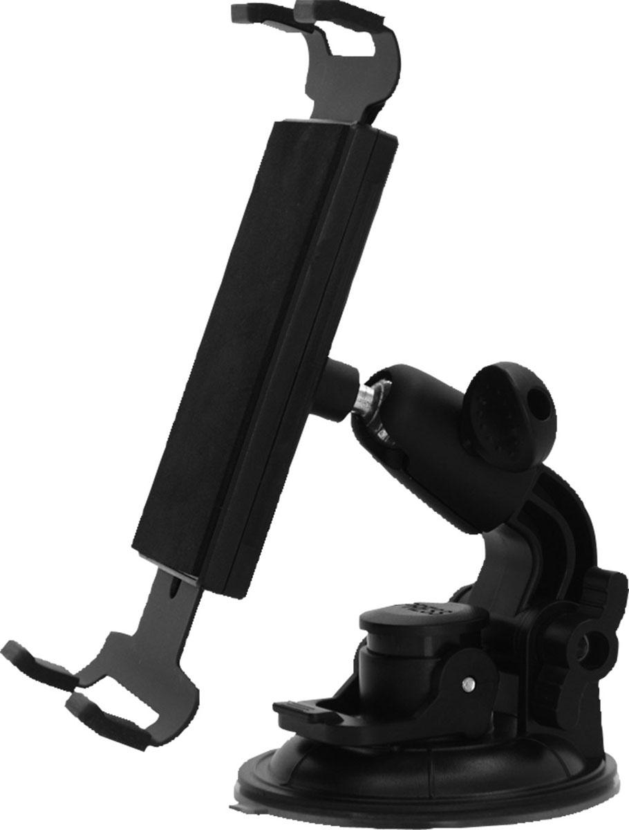 Держатель для планшета автомобильный Zipower. PM 6612PM 6612Универсальный держатель Zipower, выполненный из высококачественного пластика, подходит как для стандартных планшетов, так и для фаблетов, размер которых несколько меньше. Раздвижная конструкция позволяет регулировать необходимую высоту захвата. Предназначен для установки на лобовое стекло автомобиля. Особенности: Выполнен из высококачественного материала PC + ABS. Совместим с iPad и другими планшетами PC/GPS. Держатель легко устанавливается и подходит для любого автомобиля. Регулируемый поворот на 360°. Противоскользящий коврик. Высота захвата: 150-210 мм.