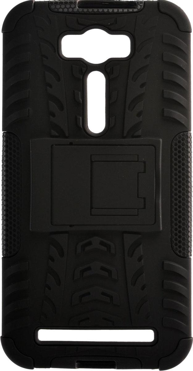 Skinbox Defender Case чехол для Asus Zenfone Laser 2 ZE500KL/ZE500KG, Black2000000084282Чехол-накладка Skinbox Defender Case для Asus Zenfone Laser 2 ZE500KL/ZE500KG бережно и надежно защитит ваш смартфон от пыли, грязи, царапин и других повреждений. Выполнена из высококачественного поликарбоната, плотно прилегает и не скользит в руках. Чехол-накладка оставляет свободным доступ ко всем разъемам и кнопкам устройства.