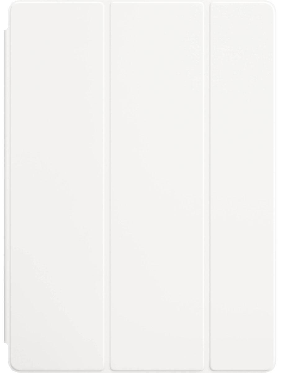 Apple Smart Cover чехол для iPad Pro 12.9, WhiteMLJK2ZM/AЛёгкая и прочная обложка Smart Cover защитит дисплей вашего iPad Pro, оставляя заднюю алюминиевую поверхность открытой. А для защиты со всех сторон используйте обложку в паре с силиконовым чехлом для iPad Pro. Магнитное крепление надёжно фиксирует обложку Smart Cover к iPad Pro. Откройте Smart Cover, чтобы вывести iPad Pro из режима сна. Закройте её, и устройство вернётся в режим сна.