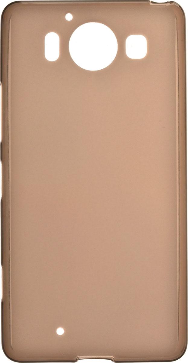 Skinbox Silicone чехол для Microsoft Lumia 950, Brown