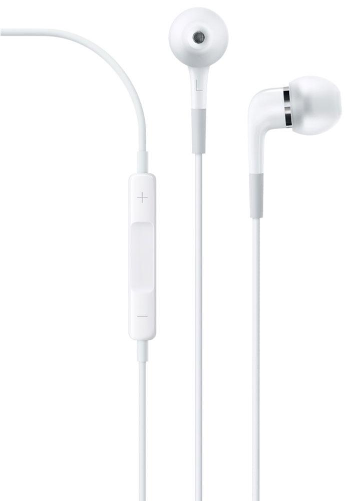 Apple In-Ear Headphones наушникиME186ZM/BВ наушниках-вкладышах Apple с пультом дистанционного управления и микрофоном вы услышите свою любимую музыку во всём богатстве звука. Они отличаются великолепными звуковыми характеристиками и звукоизоляцией, а также имеют кнопки для регулировки громкости, управления воспроизведением аудио и видео и даже приёма и сброса звонков на iPhone. Наденьте Apple In-Ear Headphones, выберите любимую песню и наслаждайтесь её новым великолепным звучанием. Хорошо знакомые вам записи будут звучать так, как будто вы слышите их в первый раз. Каждый наушник оснащён двумя отдельными высококачественными динамиками — низкочастотным и высокочастотным. Они обеспечивают яркое, детальное и точное воспроизведение с мощным басом для всех типов музыки. Благодаря мягким силиконовым насадкам трёх различных размеров наушники надёжно закрепляются в ушной раковине. Вставьте их в уши — и они создадут своеобразный барьер, защищающий от внешнего шума, что позволит вам...