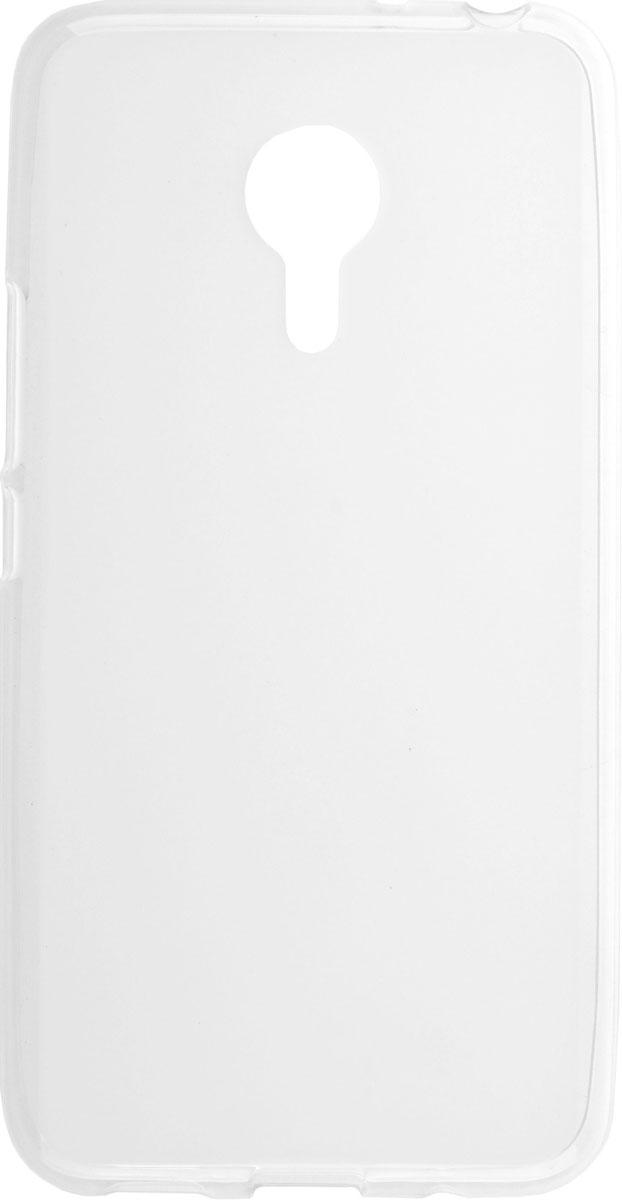 Skinbox 4People чехол для Meizu MX5, Transparent2000000084824Накладка выполнена из высококачественного поликарбоната, плотно прилегает и не скользит в руках.