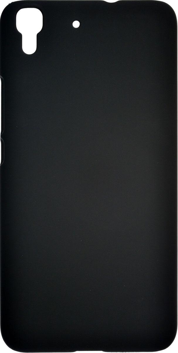 Skinbox 4People чехол для Huawei Y6, Black2000000085074Чехол-накладка Skinbox 4People для Huawei Ascend Y6 бережно и надежно защитит ваш смартфон от пыли, грязи, царапин и других повреждений. Выполнена из высококачественного поликарбоната, плотно прилегает и не скользит в руках. Чехол-накладка оставляет свободным доступ ко всем разъемам и кнопкам устройства.