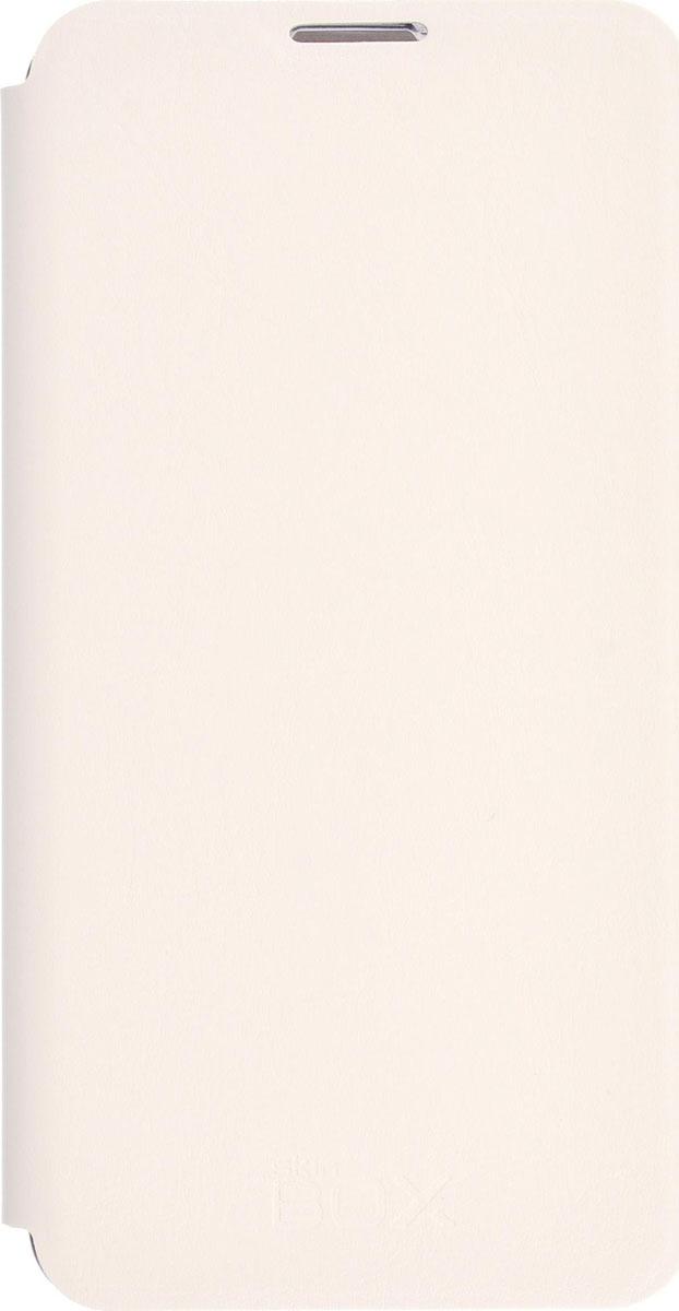 Skinbox Lux чехол для Microsoft Lumia 650, White2000000086187Чехол Skinbox Lux выполнен из высококачественного поликарбоната и экокожи. Он обеспечивает надежную защиту корпуса и экрана смартфона и надолго сохраняет его привлекательный внешний вид. Чехол также обеспечивает свободный доступ ко всем разъемам и клавишам устройства.