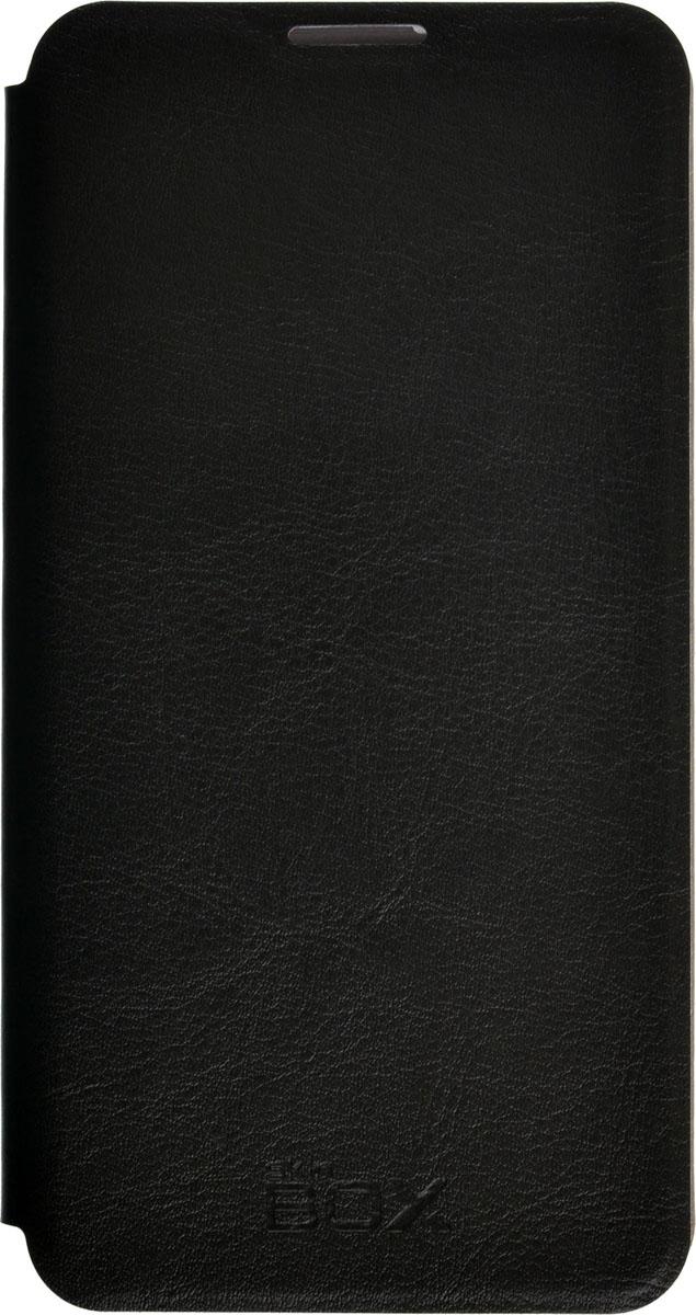 Skinbox Lux чехол для Microsoft Lumia 650, Black2000000086194Чехол Skinbox Lux выполнен из высококачественного поликарбоната и экокожи. Он обеспечивает надежную защиту корпуса и экрана смартфона и надолго сохраняет его привлекательный внешний вид. Чехол также обеспечивает свободный доступ ко всем разъемам и клавишам устройства.