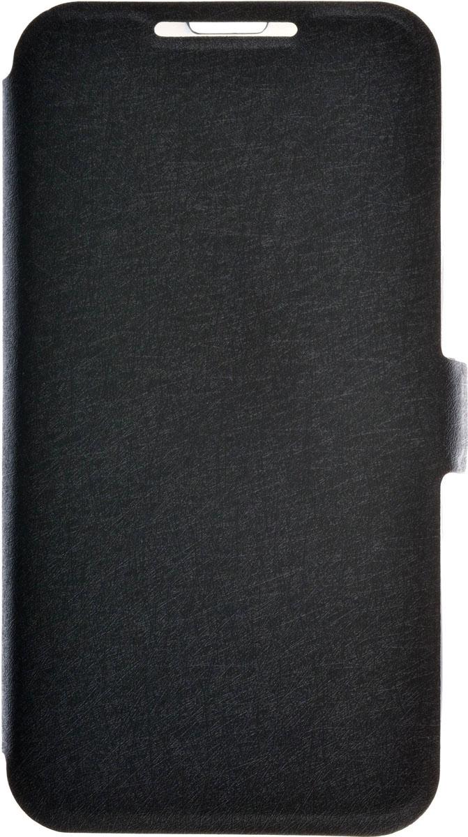 Prime Book чехол для Micromax D303, Black2000000086682Чехол Prime Book для Micromax D303 выполнен из высококачественного поликарбоната и экокожи. Он обеспечивает надежную защиту корпуса и экрана смартфона и надолго сохраняет его привлекательный внешний вид. Чехол также обеспечивает свободный доступ ко всем разъемам и клавишам устройства.