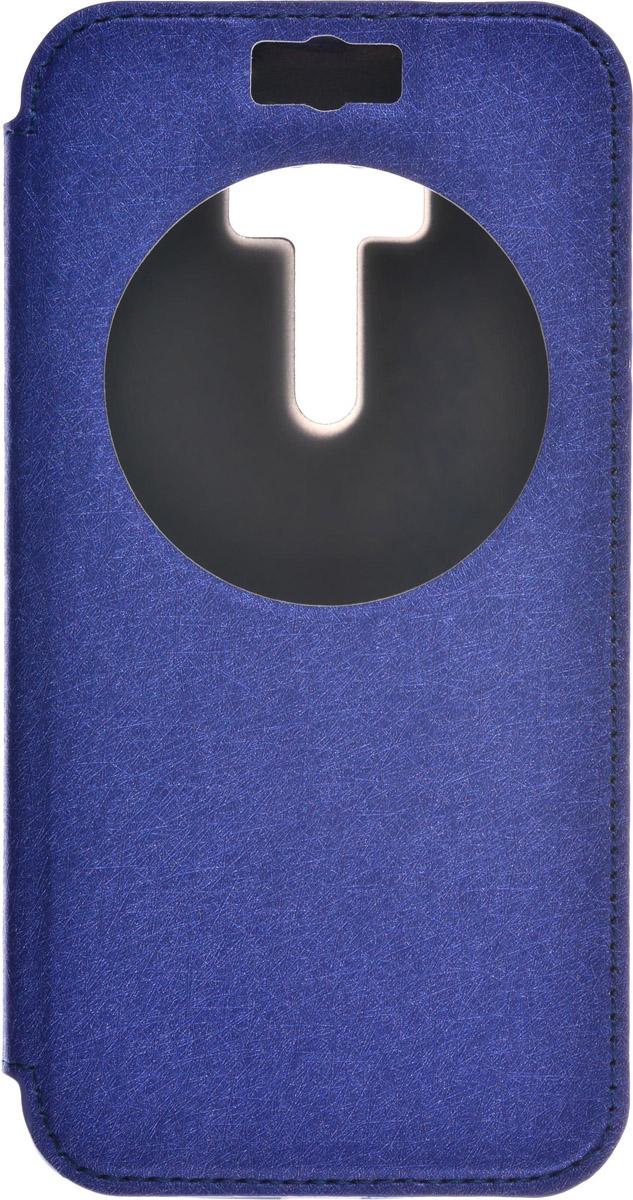 Skinbox MS AW чехол для Asus Zenfone Selfie ZD551KL, Blue2000000087221Чехол Skinbox MS AW выполнен из высококачественного поликарбоната и экокожи. Он обеспечивает надежную защиту корпуса и экрана смартфона и надолго сохраняет его привлекательный внешний вид. Чехол также обеспечивает свободный доступ ко всем разъемам и клавишам устройства.