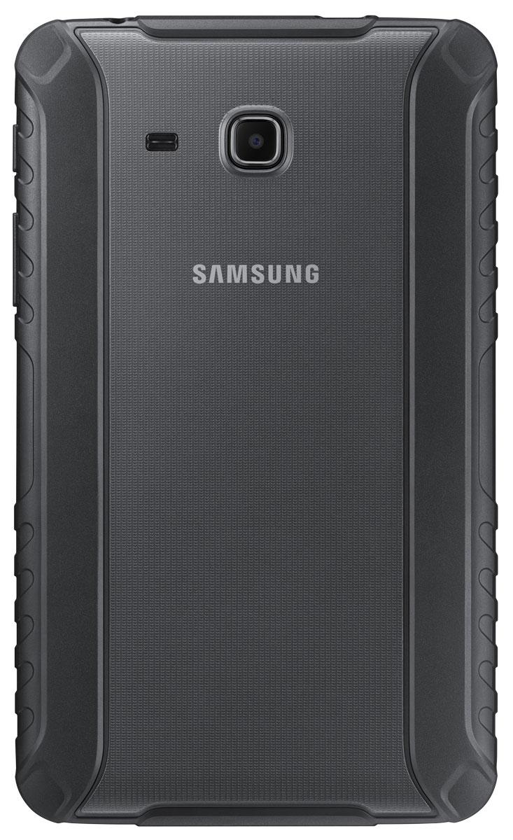 Samsung EF-PT280C Protective Cover чехол для Tab A 7.0, BlackEF-PT280CBEGRUАксессуар Samsung Protective Cover разработан специально для эффективной защиты вашего планшета Samsung Galaxy Tab A 7.0. Чехол сделан в виде накладки и предохраняет заднюю поверхность и боковые грани девайса от повреждений. Чехол из полиуретана с шероховатым покрытием также защищает планшет от случайного выскальзывания из рук. Аксессуар снабжен необходимыми разъемами для зарядки и камеры для комфортной работы.