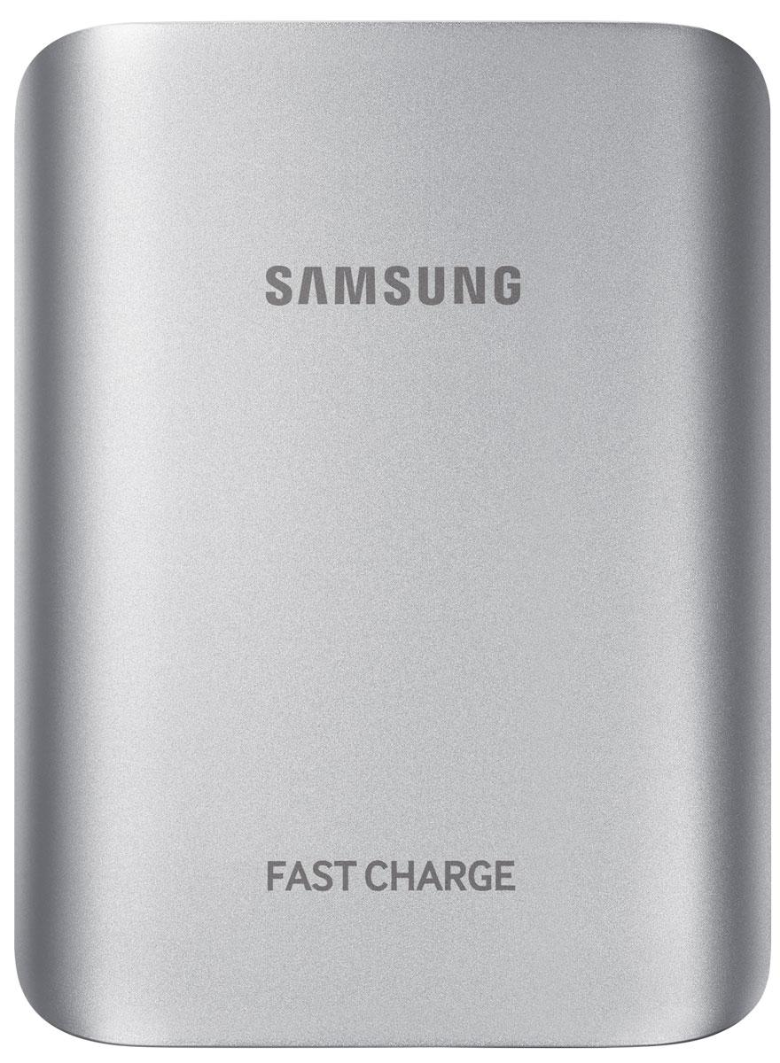 Samsung EB-PG935BSR, Silver внешний аккумуляторEB-PG935BSRGRUМеталлический корпус, USB-порт для зарядки мобильных устройств, LED-индикация уровня заряда, поддержка функций быстрой зарядки встроенного аккумулятора и аккумулятора мобильного устройства Adaptive Fast Charging и QC2.0.
