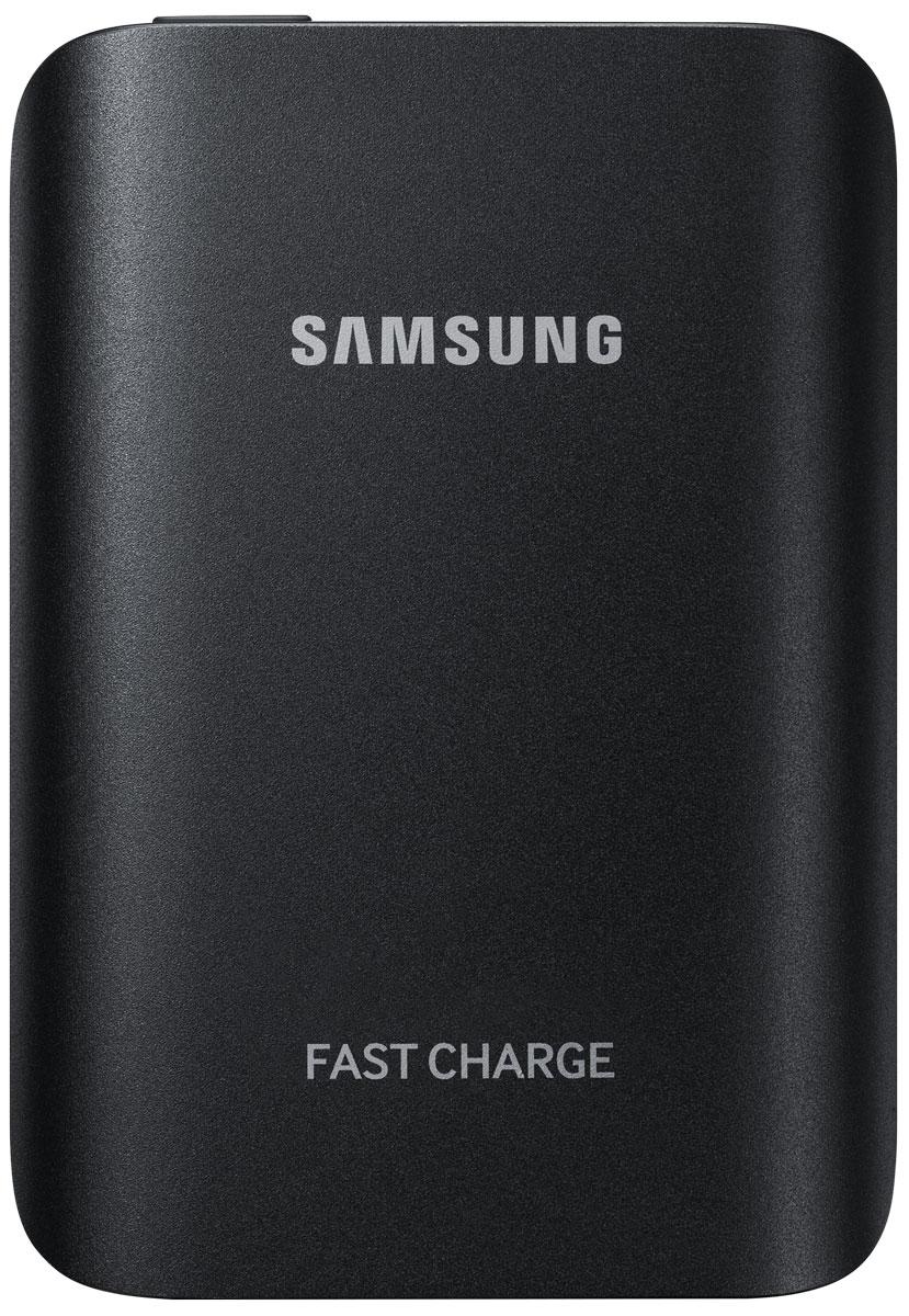 Samsung EB-PG930BBR, Black внешний аккумуляторEB-PG930BBRGRUВнешний аккумулятор Samsung EB-PG930B использует технологию полноценной быстрой зарядки, что означает, что он не только быстро заряжает совместимое мобильное устройство, но и сам заряжается очень быстро. Универсальный внешний аккумулятор совместим со смартфонами Samsung с поддержкой функции быстрой зарядки Adaptive Fast Charge, а также многими другими мобильными устройствами. От многих других этот внешний аккумулятор отличает стильный металлический корпус с закруглёнными краями, схожий с дизайном флагманских устройств Samsung.