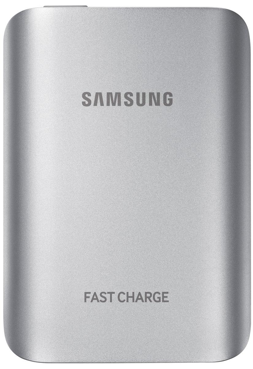 Samsung EB-PG930BSR, Silver внешний аккумуляторEB-PG930BSRGRUВнешний аккумулятор Samsung EB-PG930B использует технологию полноценной быстрой зарядки, что означает, что он не только быстро заряжает совместимое мобильное устройство, но и сам заряжается очень быстро. Универсальный внешний аккумулятор совместим со смартфонами Samsung с поддержкой функции быстрой зарядки Adaptive Fast Charge, а также многими другими мобильными устройствами. От многих других этот внешний аккумулятор отличает стильный металлический корпус с закруглёнными краями, схожий с дизайном флагманских устройств Samsung.