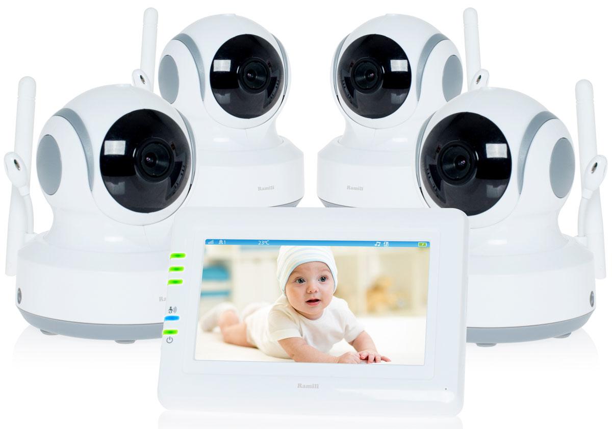 Ramili Baby RV900X4, White видеоняня