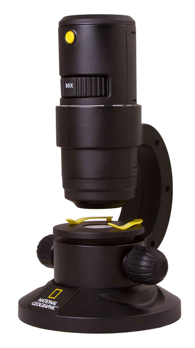 Bresser National Geographic 20–350x микроскоп цифровой