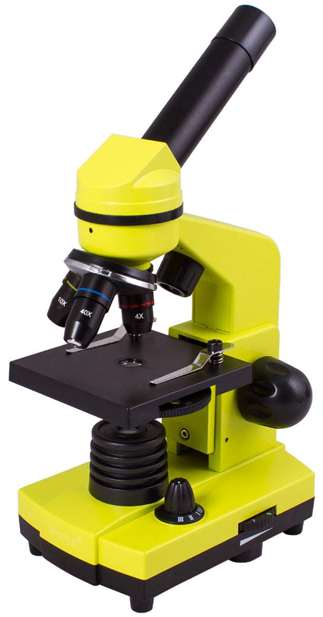 Levenhuk Rainbow 2L, Lime микроскоп XSP-1406 plastic Pantone #388C