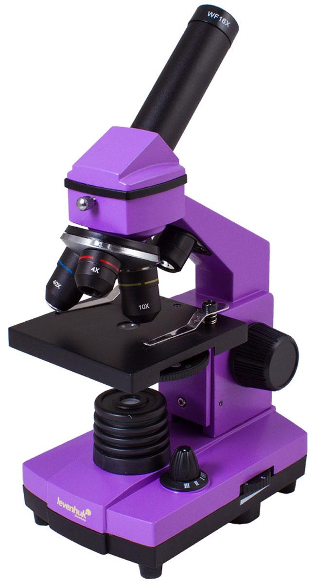 Levenhuk Rainbow 2L Plus Amethyst микроскоп