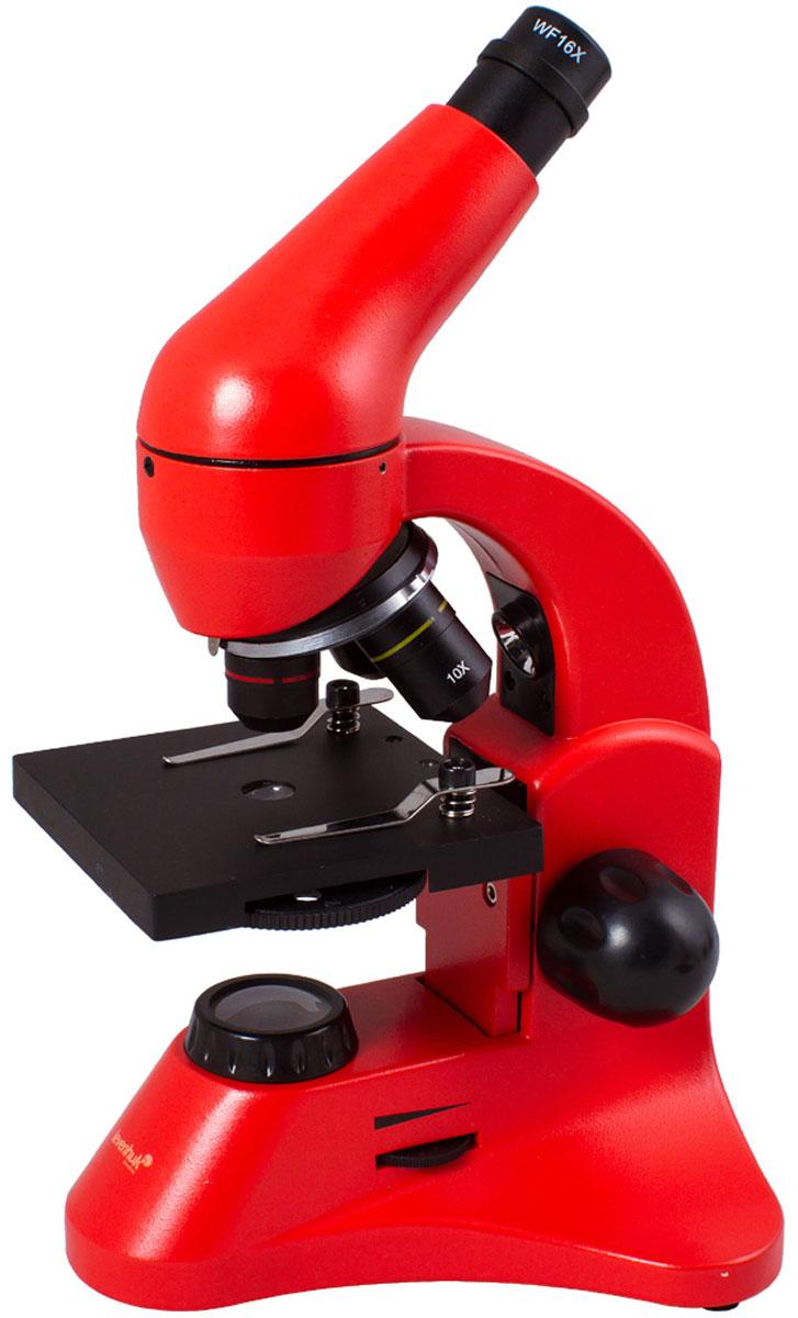 Levenhuk Rainbow 50L Plus, Orange микроскоп XSP-45 metal Pantone #179C