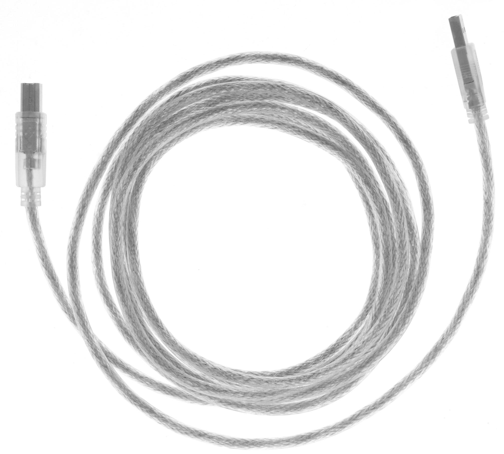 Greenconnect Premium GCR-UPC2M-BD2S, Clear кабель USB 3.0 мGCR-UPC2M-BD2S-3.0mКабель Greenconnect Premium GCR-UPC2M-BD2S используется для подключения к компьютеру различных устройств с разъемом USB тип B, например, принтер, камеры, сканер, МФУ. Надежно работает со всеми моделями HP. Экранирование кабеля позволит защитить сигнал при передаче от влияния внешних полей, способных создать помехи. Пропускная способность интерфейса: USB 2.0 до 480 Мбит/с Тип оболочки: PVC (ПВХ)