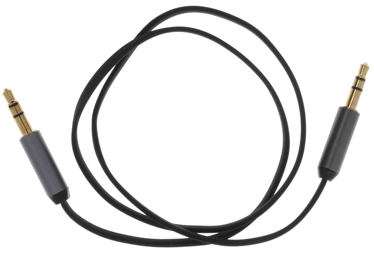 Ugreen UG-10723, Black Silver кабель AUX 0.5 мUG-10723Кабель Ugreen UG-10723 может быть использован для подключения, например, гарнитуры с MP3-плеером, компьютера, DVD, TV, радио, CD плеер в которых есть данный аудиоразъем. Главное отличие этого аудио кабеля - мягкая оболочка и стильные металлические соединители. Прекрасное качество исполнения и экранирование позволит избежать влияния помех при передаче сигнала. Толщина кабеля: 1,5 х 3,5 мм Тип оболочки: ПВХ